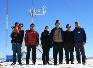 Winter experiment at Nam Co in Tibet started