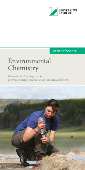 Phd research proposal in environmental chemistry
