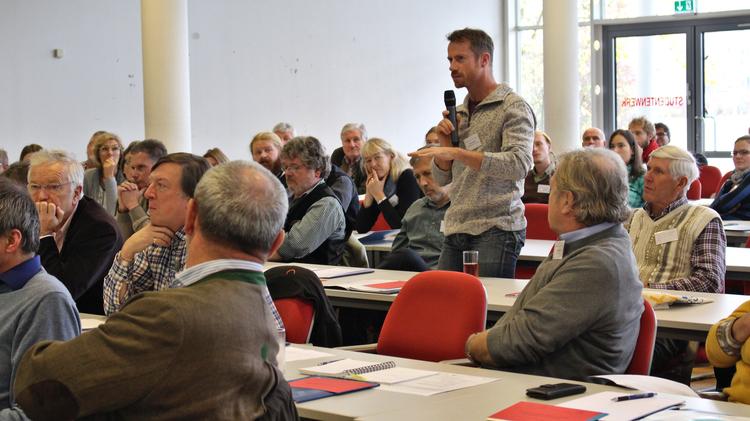Diskussion mit dem Publikum
