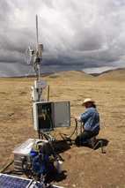 Beginn des Experimentes in Kema (Tibet)